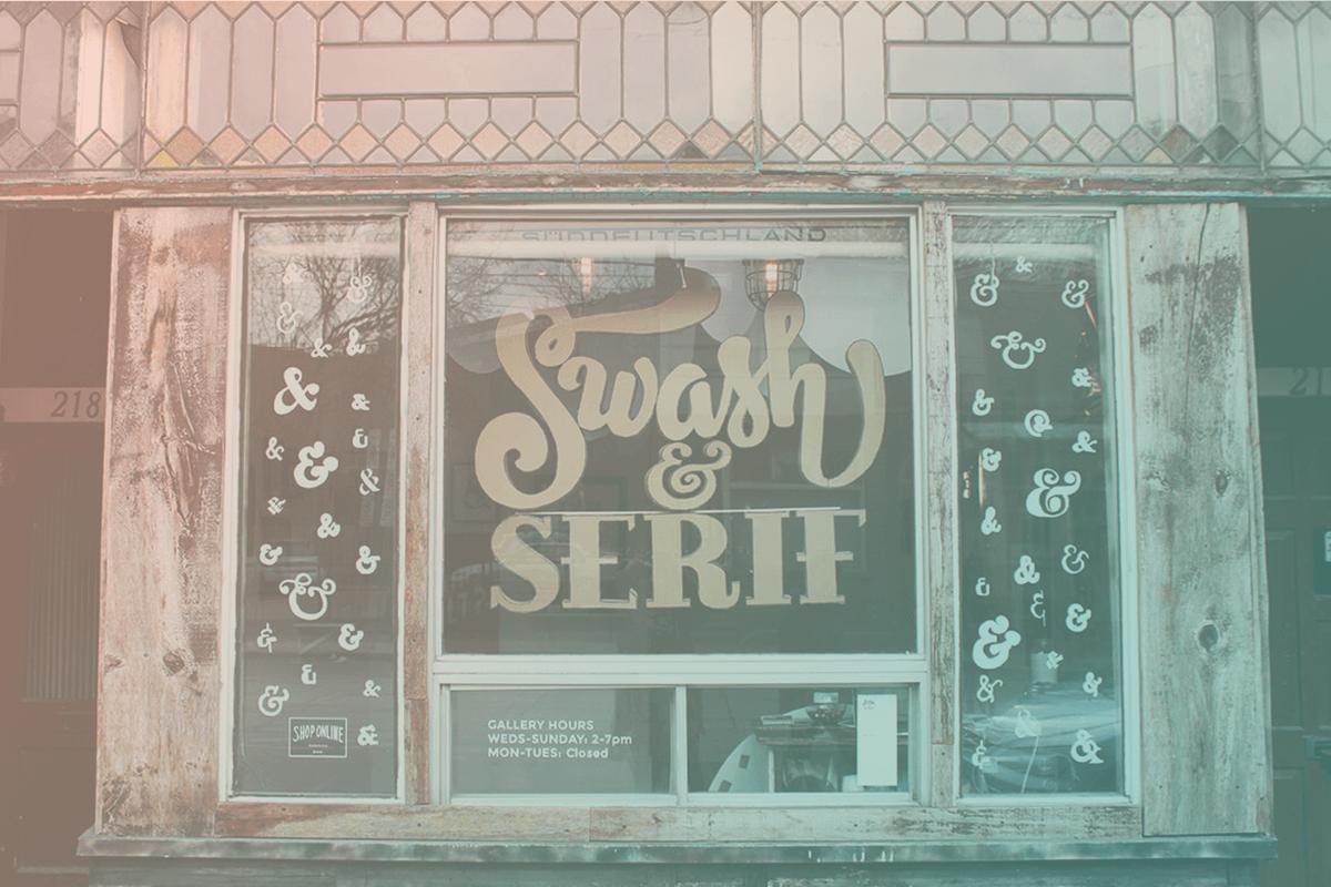 Swash & Serif 1